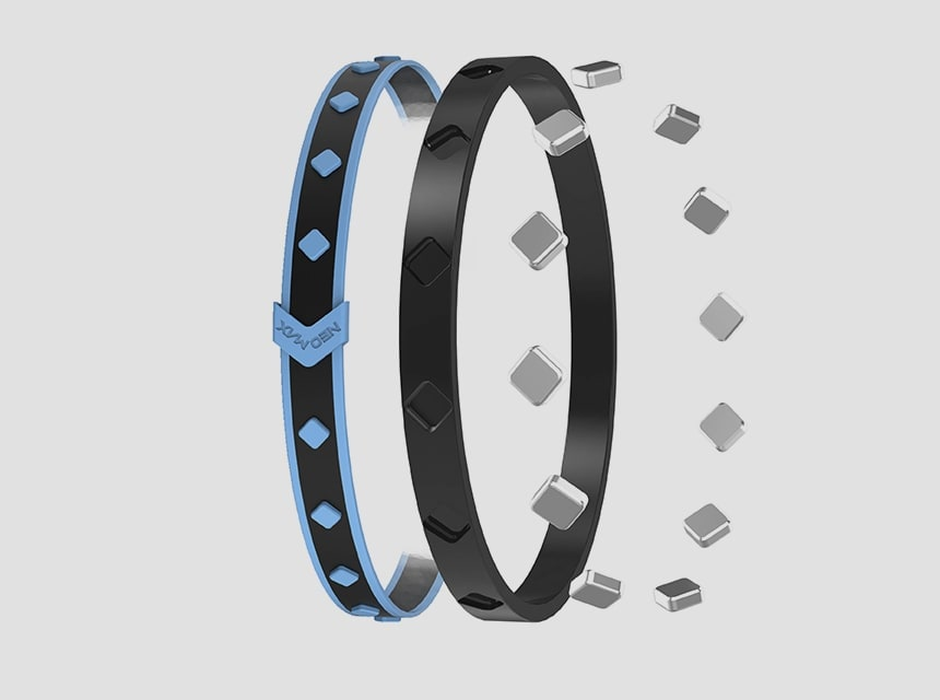 magnetic silicon ancle band product